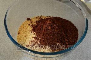 Сладкая колбаска с вареной сгущенкой: Добавить какао