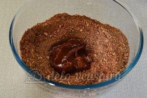 Сладкая колбаска с вареной сгущенкой: Добавить сгущенку