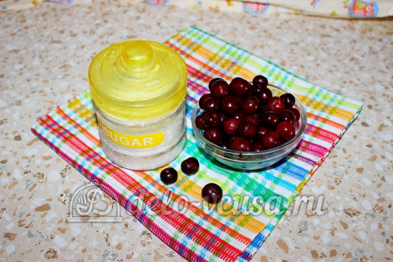 Компот из вишни: Ингредиенты