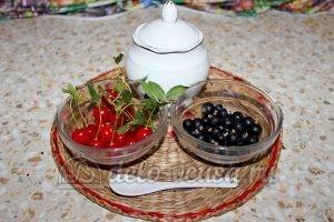 Компот из вишни и черной смородины: Ингредиенты