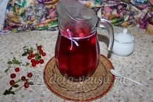 Компот из вишни и черной смородины: Охладить