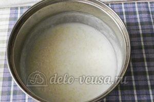 Молочный суп с рисом: Доводим до готовности