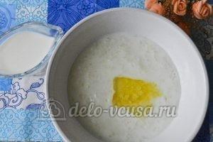 Молочный суп с рисом: Суп готов