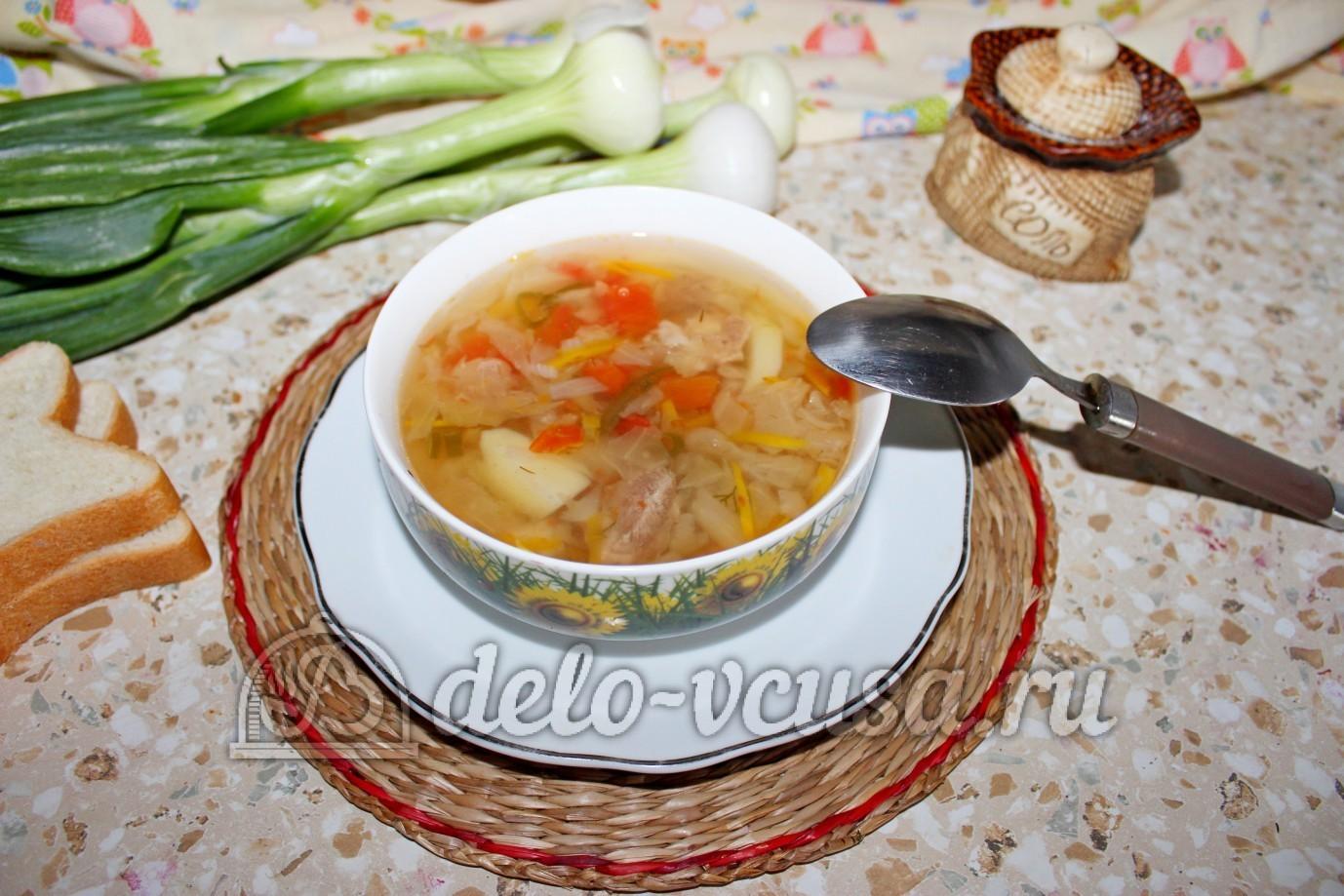 Рецепт щей из свежей капусты в мультиварке с курицей рецепты пошагово