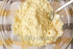 Сырники с кукурузной мукой: Добавить кукурузную муку