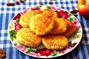 Сырники из творога с яблоками