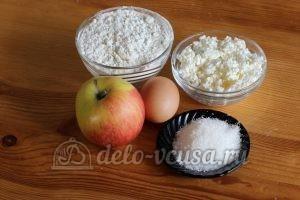 Сырники из творога с яблоками: Ингредиенты
