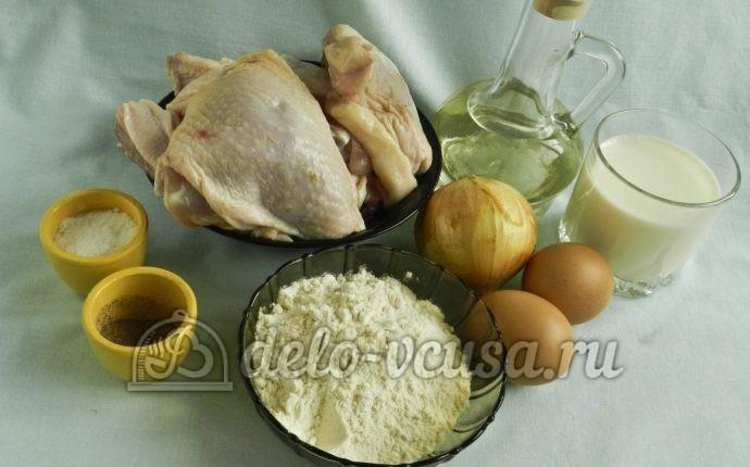 Бендерики с курицей: Ингредиенты