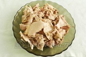 Бендерики с курицей: Подготовить мясо