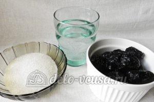 Компот из чернослива: Ингредиенты