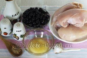 Куриная грудка в кисло-сладком соусе: Ингредиенты