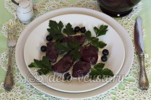 Куриная грудка в кисло-сладком соусе: Внутри мясо белое