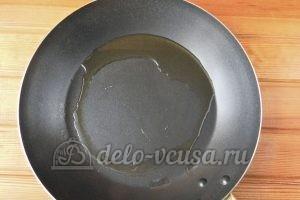 Овсяные оладьи с бананом: Нагреваем сковороду