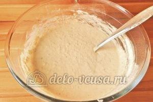 Овсяные оладьи с бананом: Перемешиваем тесто снова и оставляем на 10 минут