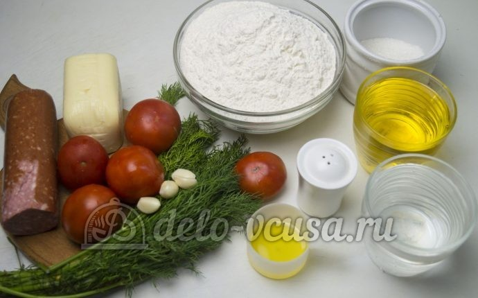 Пирожки-бомбочки: Ингредиенты