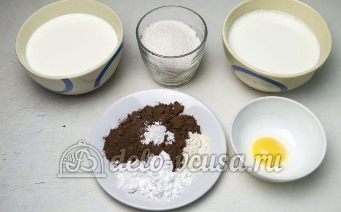 Шоколадный пудинг: Ингредиенты