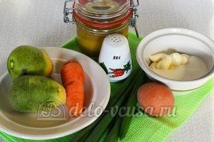 Салат из редьки с морковью: Ингредиенты