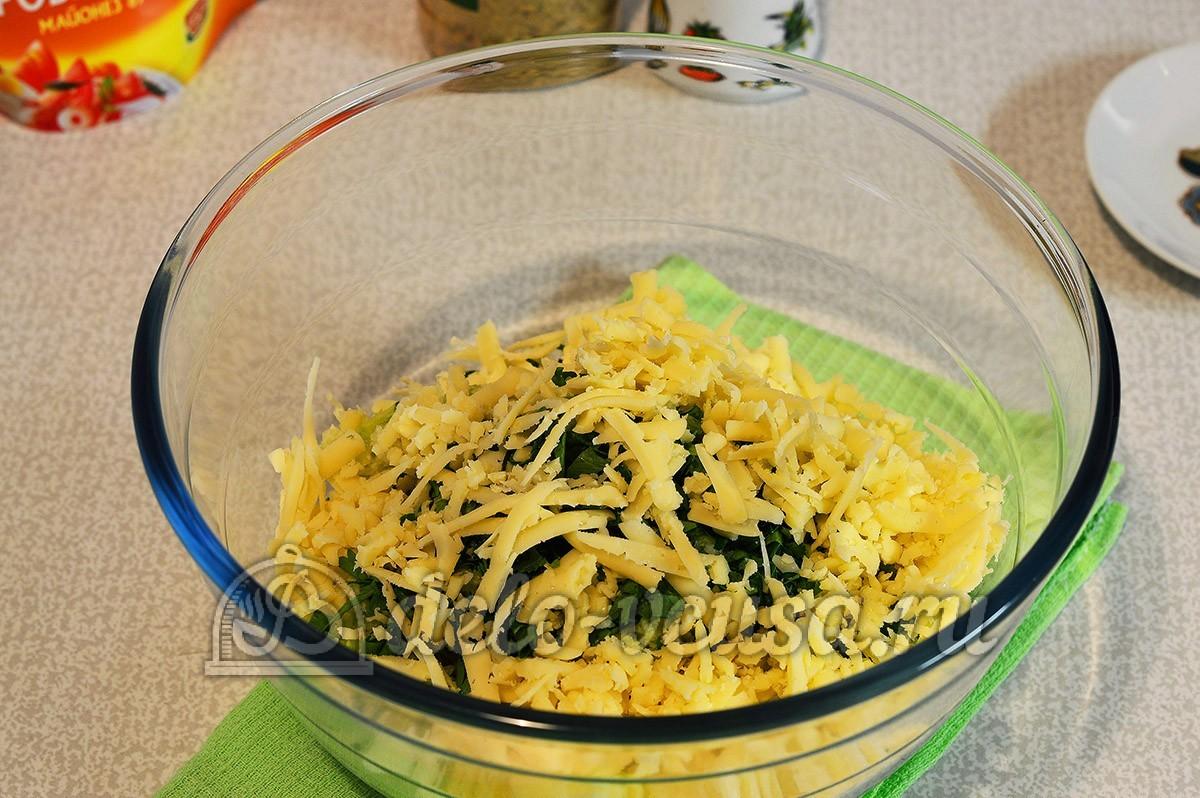 салат из редьки и сыра рецепт