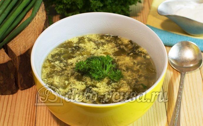 щавелевый суп без мяса рецепт