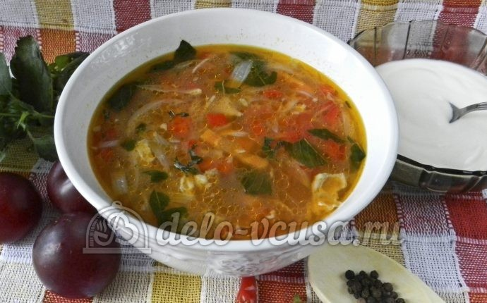 Вкусный суп с говядиной рецепт пошагово