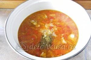 Суп харчо из говядины: Добавляем в суп заправку