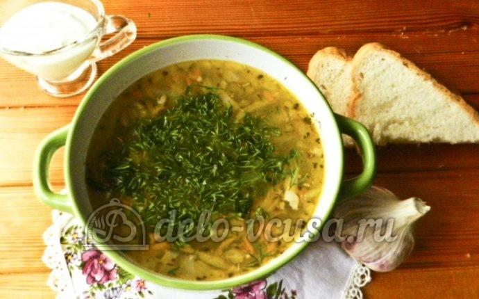 суп куриный с перловкой рецепт с фото