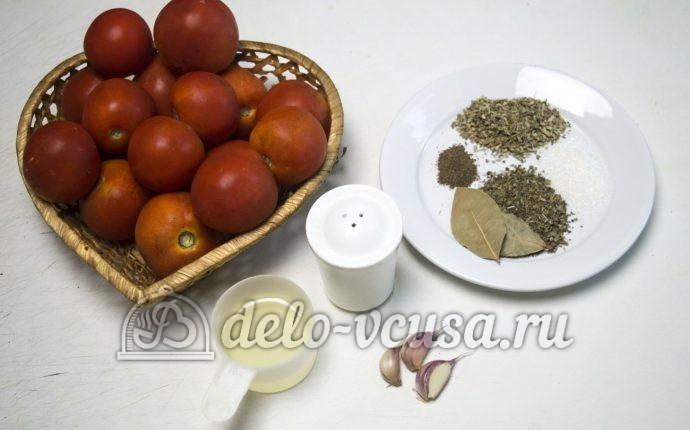 Томатный соус с чесноком: Ингредиенты