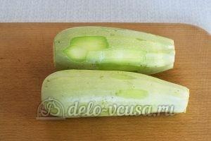 Закуска из кабачков с сыром и чесноком: Кабачки вымыть