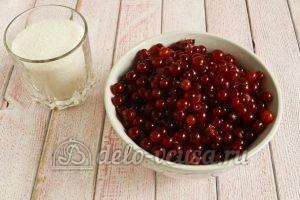 Желе из красной смородины: Ягоды вымыть и просушить