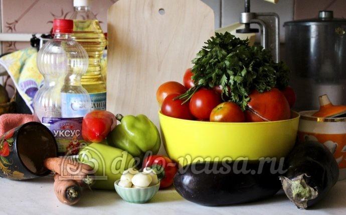 салат бакат рецепт с фото