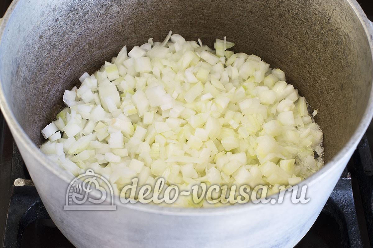 Овощное рагу с кабачками и баклажанами и картошкой