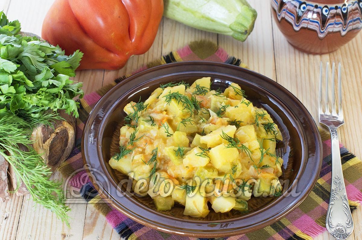 Овощное рагу с кабачками рецепт с курицей 188