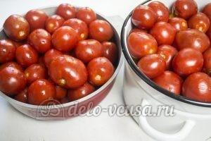 Кетчуп из помидоров и алычи: Помидоры отправить в духовку