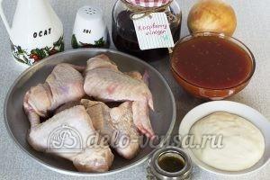 Крылышки в сметанно-томатном соусе: Ингредиенты