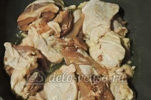 Курица по-средиземноморски: Обжариваем курицу