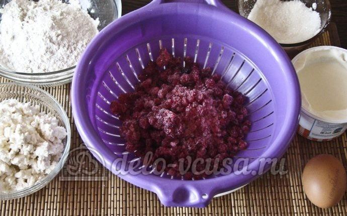 Открытый пирог со смородиной: Ингредиенты