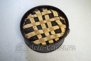 Пирог с творогом и маком: Охлаждаем пирог