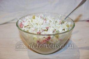 Салат Днестр: Добавить специи по вкусу
