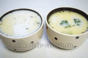 Сырный суп с куриным филе