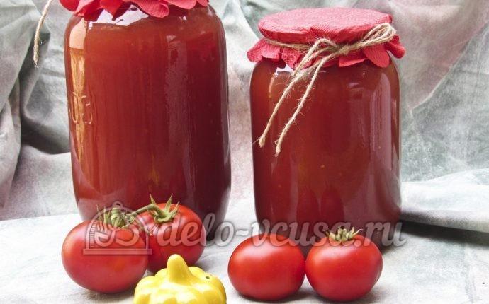 Рецепт домашний томатный сок на зиму
