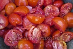 Томатный сок на зиму: Подготовить помидоры