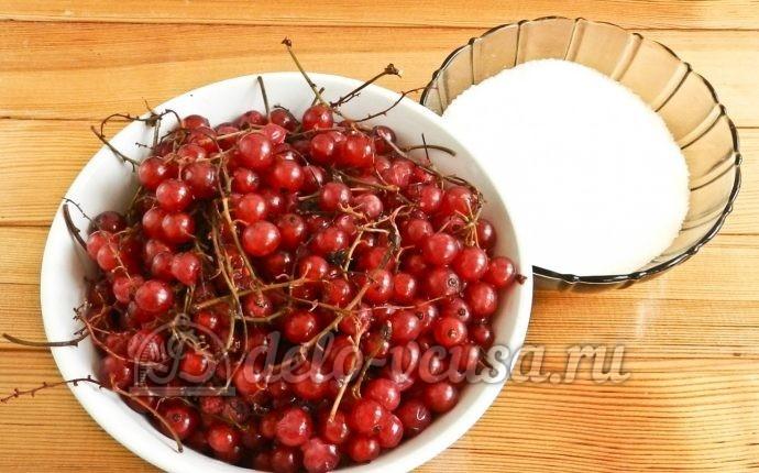 Варенье из красной смородины: Ингредиенты