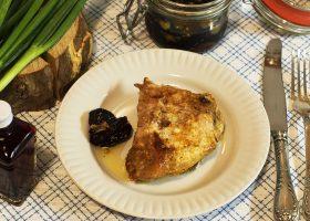 Жареные куриные бедра на сковороде