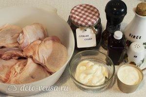 Жареные куриные бедра на сковороде: Ингредиенты