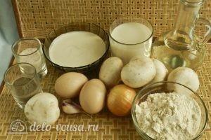Бендерики с грибами: Ингредиенты