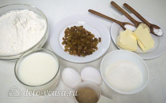 Булка-плетенка: Ингредиенты