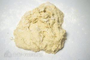 Булка-плетенка: Вымешиваем тесто