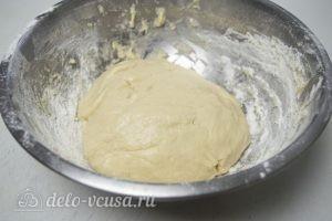 Булка-плетенка: Оставляем вымешенное тесто на 1,5-2 часа