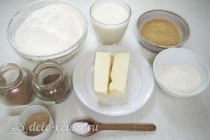 Булочки с корицей: Ингредиенты