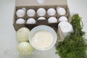 Яйца фаршированные луком: Ингредиенты